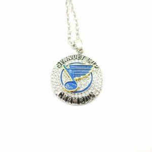 USA St. Louis Blues Stanley Cup Pendant Necklace